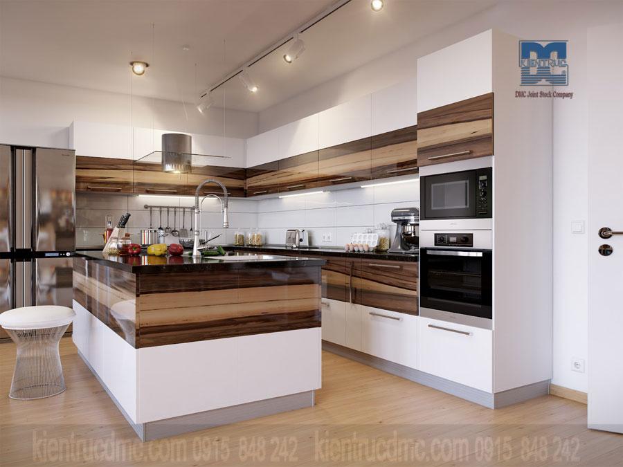 5 điểm cần lưu ý khi thiết kế nội thất phòng bếp