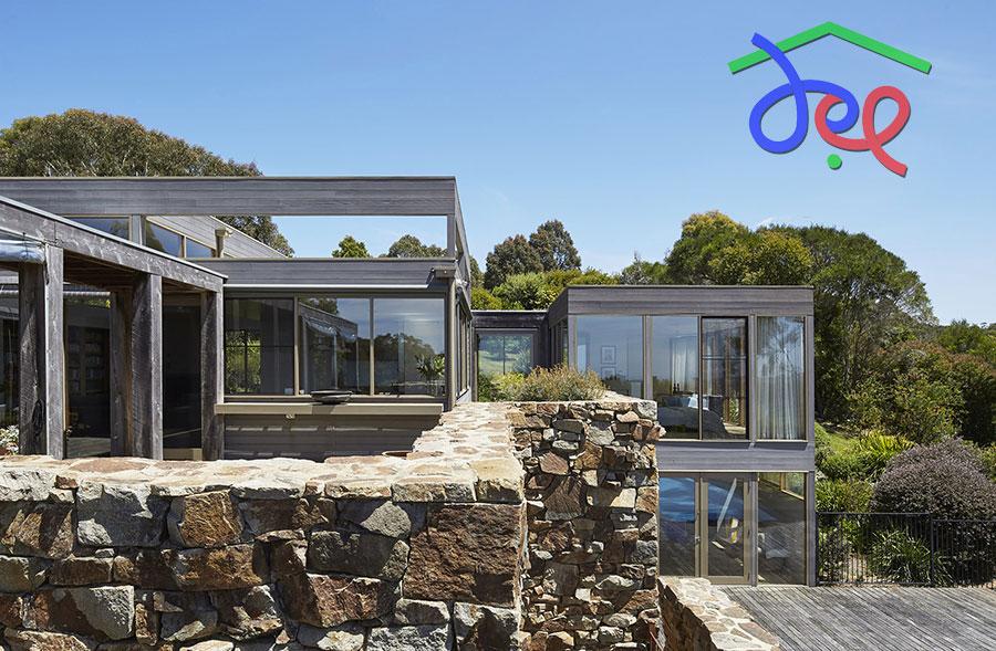 Thiết kế biệt thự trên đồi ở Australia