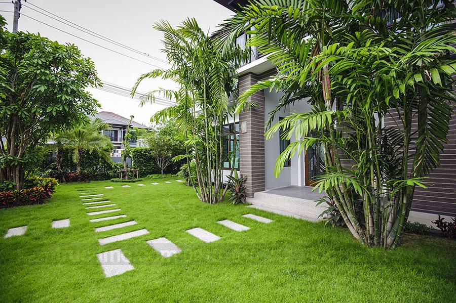 Thiết kế nhà đẹp với sân vườn dịu êm