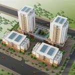 Thiết kế chung cư cho người thu nhập thấp ở Bắc Ninh
