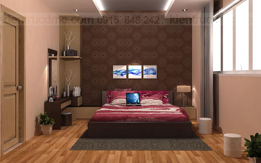 Thiết kế cải tạo căn hộ chung cư 150m2