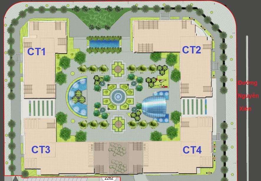 thiết kế chung cư Eco Green city