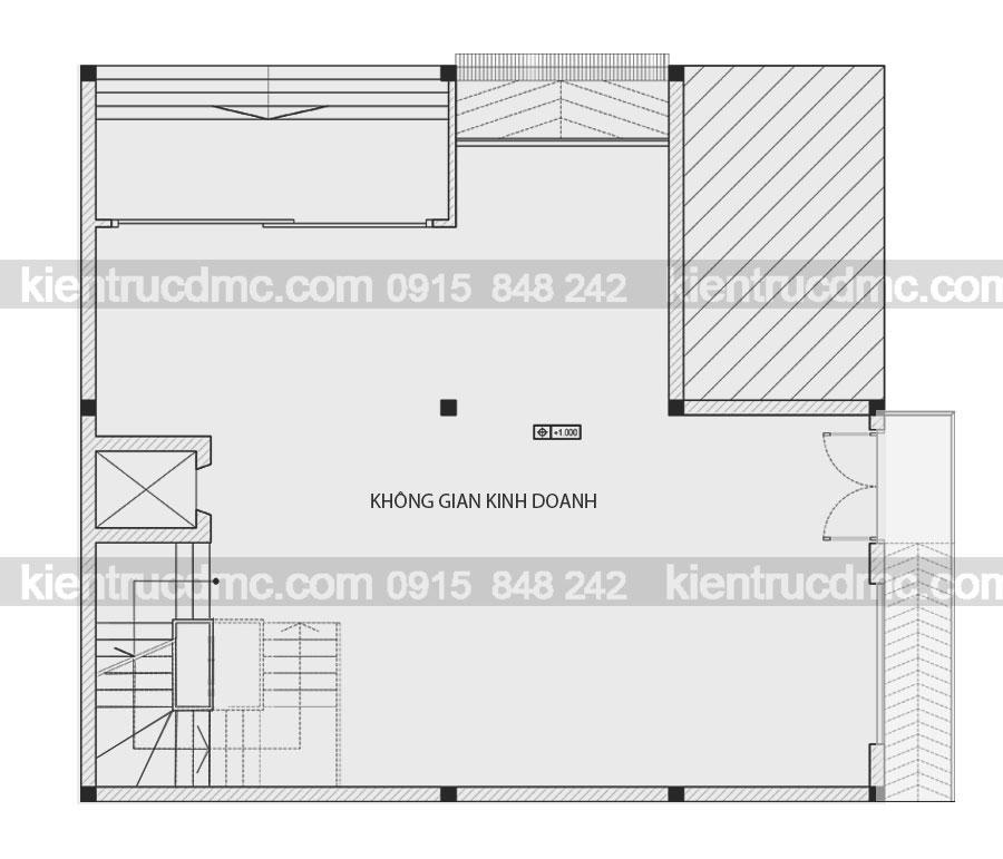 Thiết kế chung cư mini 7 tầng 2 mặt tiề