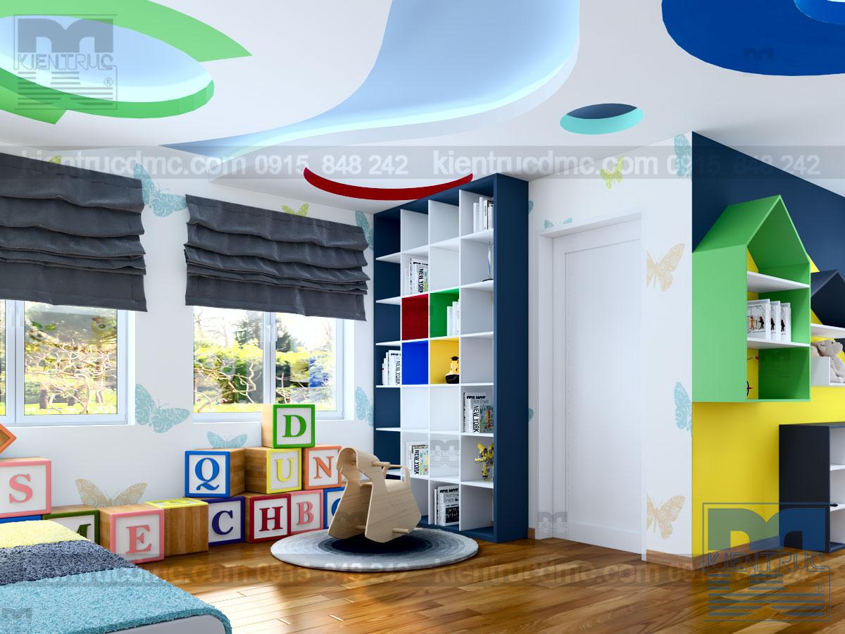 Thiết kế nội thất trường Mầm non tư thục Ban Mai, Hà Đông