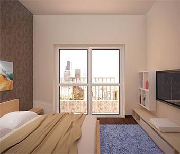 Thiết kế nội thất căn hộ chung cư 85m2