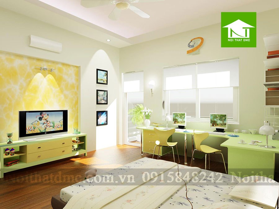 Thiết kế nội thất nhà phố 3 tầng