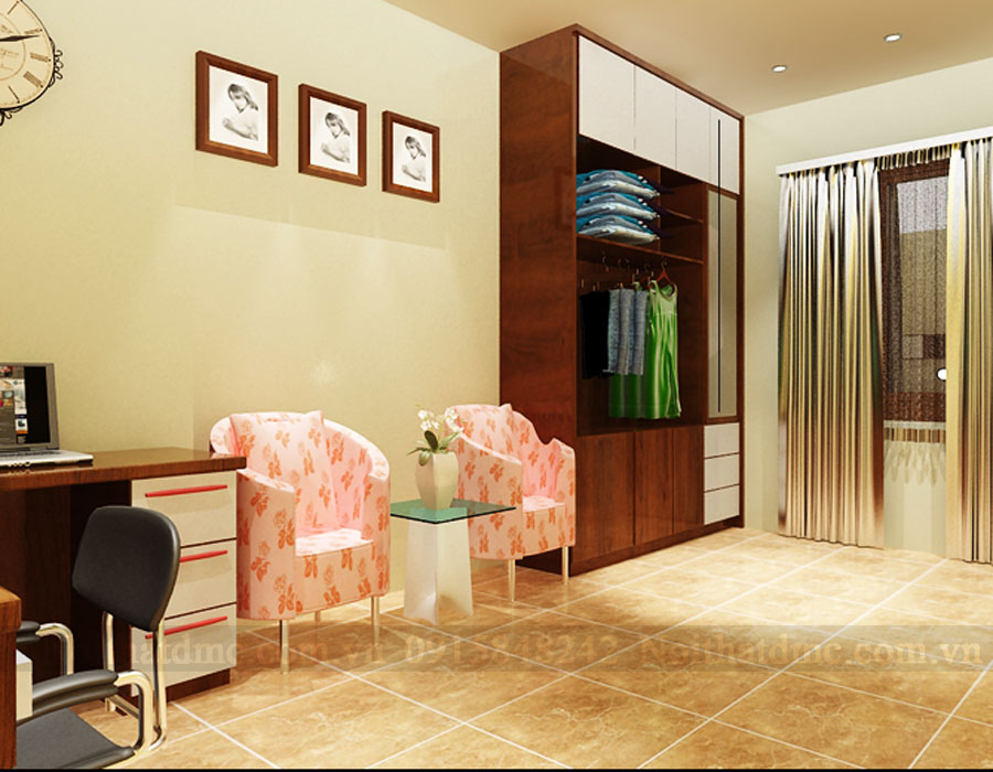 Thiết kế nội thất nhà ống 3 tầng phong cách hiện đại