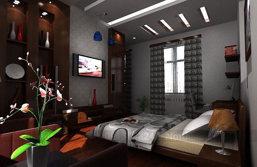 Thiết kế nội thất nhà ở kết hợp văn phòng làm việc Công Tuấn Cường