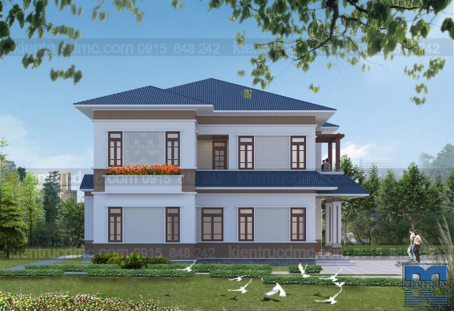 Thiết kế biệt thự cao cấp Bắc Ninh