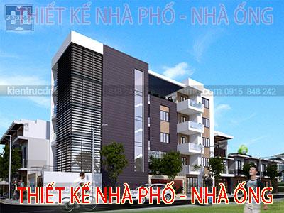Thiết kế nhà phố - Nhà ống
