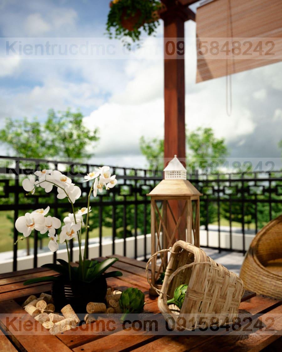 Thiết kế nhà vườn làm nhà nghỉ cuối tuần