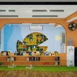 Thiết kế cải tạo nội thất Trường Mầm Non Vi Khánh