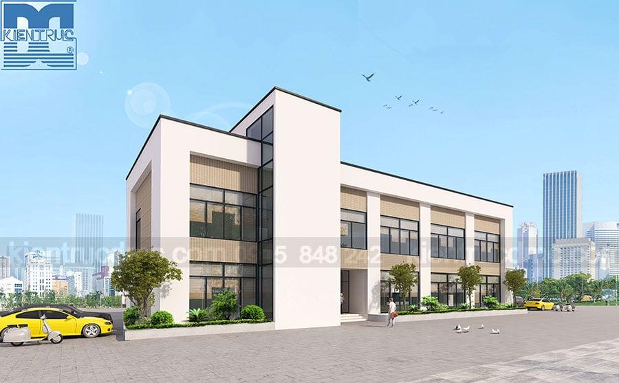 Thiết kế trụ sở Công ty Cổ phần Môi Trường Xanh