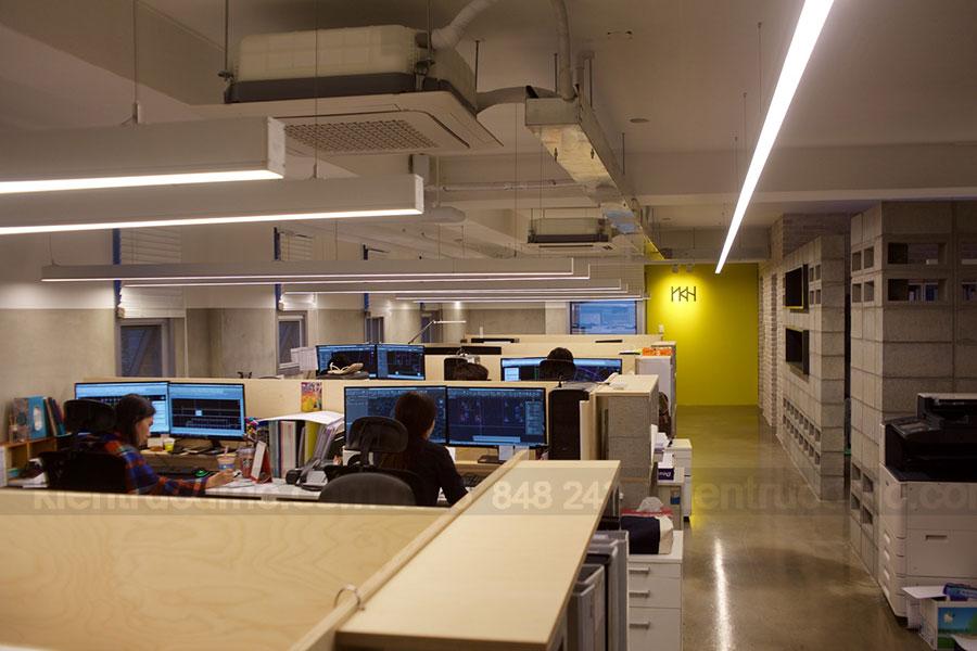 Thiết kế trụ sở văn phòng làm việc Công ty YKH Hà Quốc