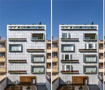 Thiết kế chung cư mini 5 tầng diện tích 1140m2