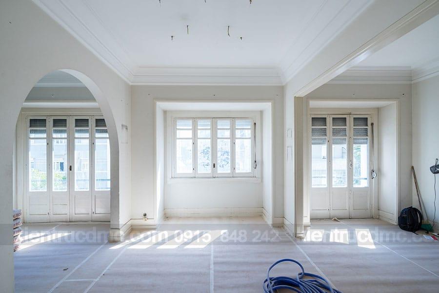 Thiết kế nội thất chung cư cao cấp diện tích 250m2