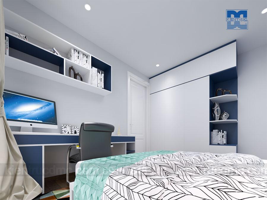 Thiết kế nội thất chung cư cao cấp diện tích 67m2 phong cách hiện đại