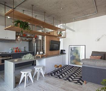 Thiết kế nội thất chung cư diện tích 65m2 phong cách tối giản