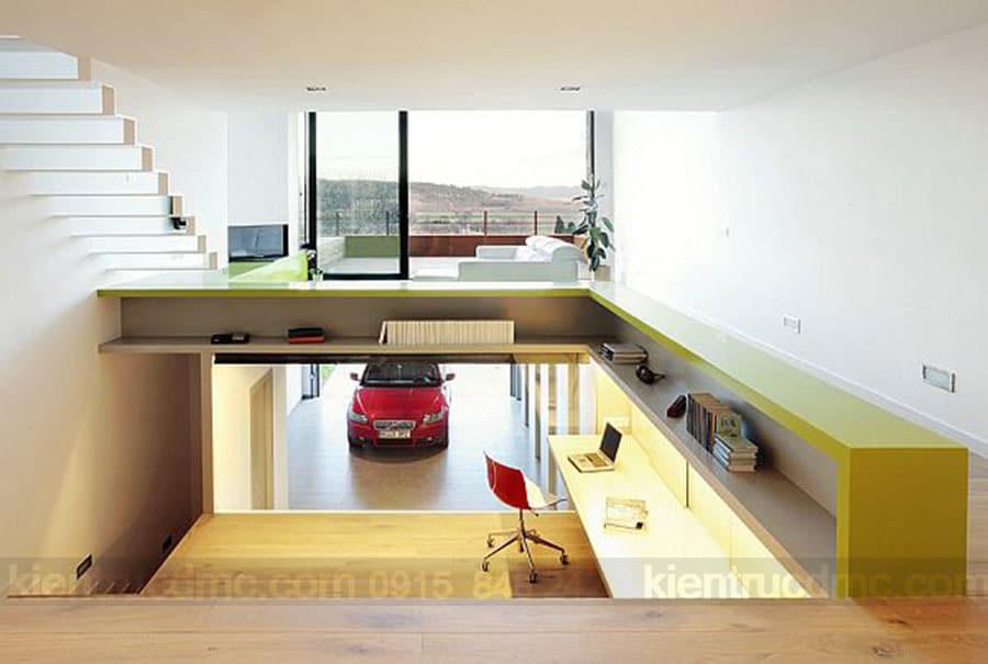 Tư vấn bố trí garage trong thiết kế nhà phố