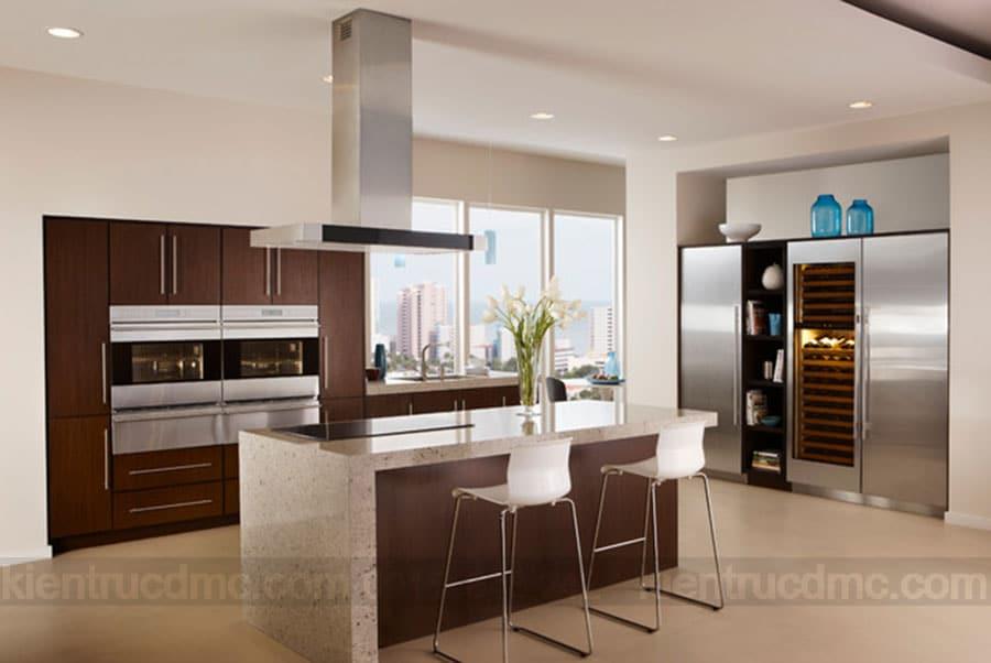 Tư vấn phong thuỷ trong thiết kế nội thất phòng bếp