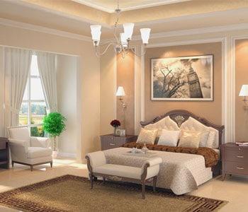 Tư vấn phong thuỷ về màu sắc và ánh sáng cho phòng ngủ hiện đại