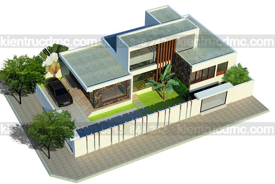 Những lưu ý khi kiến tạo sân vườn trong thiết kế nhà phố