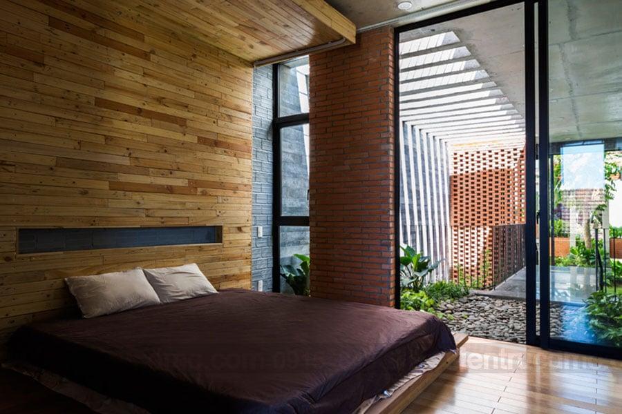Bố trí giếng trời trong thiết kế nhà phố hiện đại