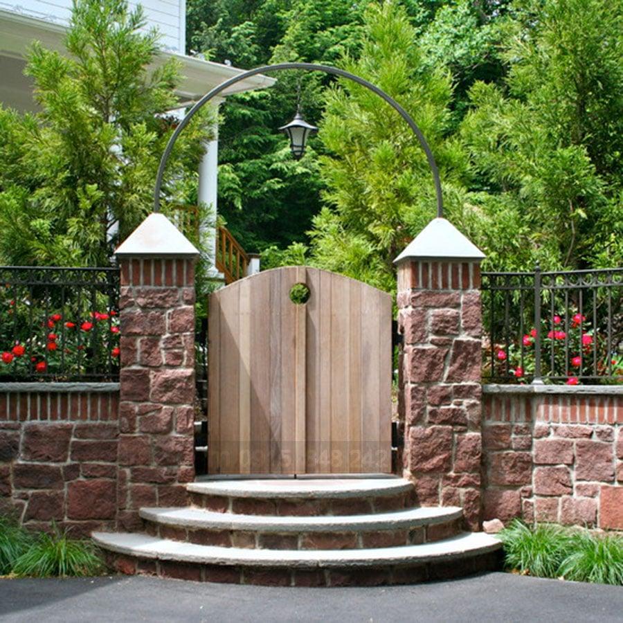 Vị trí quan trọng của cổng nhà trong thiết kế nhà đẹp
