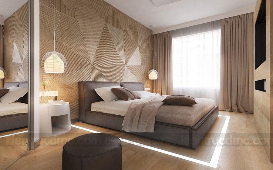 Thiết kế nội thất phòng ngủ cho vợ chồng trẻ