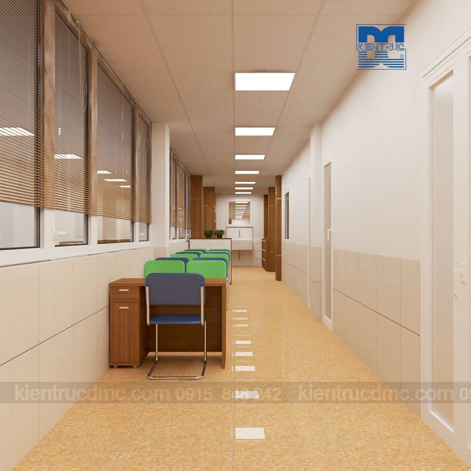 Thiết kế nội thất văn phòng Khoa sơ sinh Bệnh viện Phụ sản Hà Nội