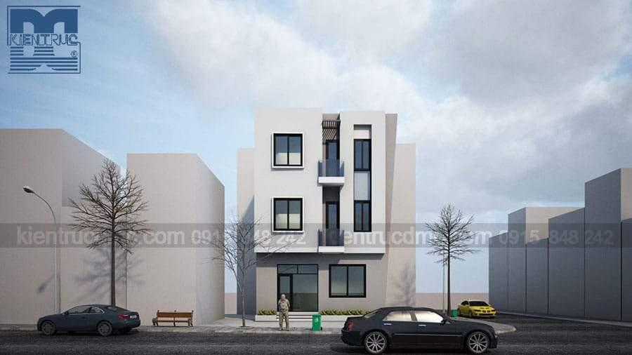 Top các mẫu thiết kế nhà phố căn góc đẹp, hiện đại