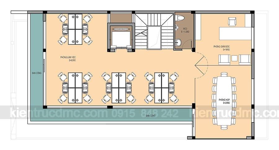 Thiết kế nhà lô phố 3 tầng căn góc hai mặt tiền phong cách hiện đại