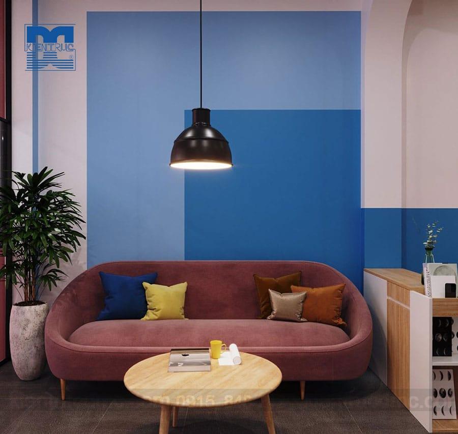 Thiết kế nội thất nhà phố kết hợp kinh doanh 4 tầng hiện đại
