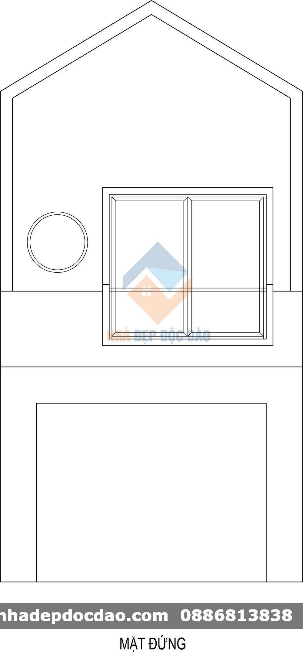 Thiết kế nhà ở kết hợp kinh doanh phong cách hiện đại