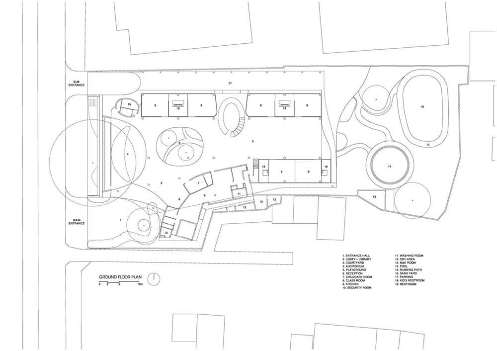 Thiết kế Trường mầm non Elite ở Bến Tre