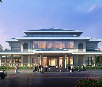 Thiết kế công trình văn hoá Bảo tàng – Thư viện thị xã Từ Sơn