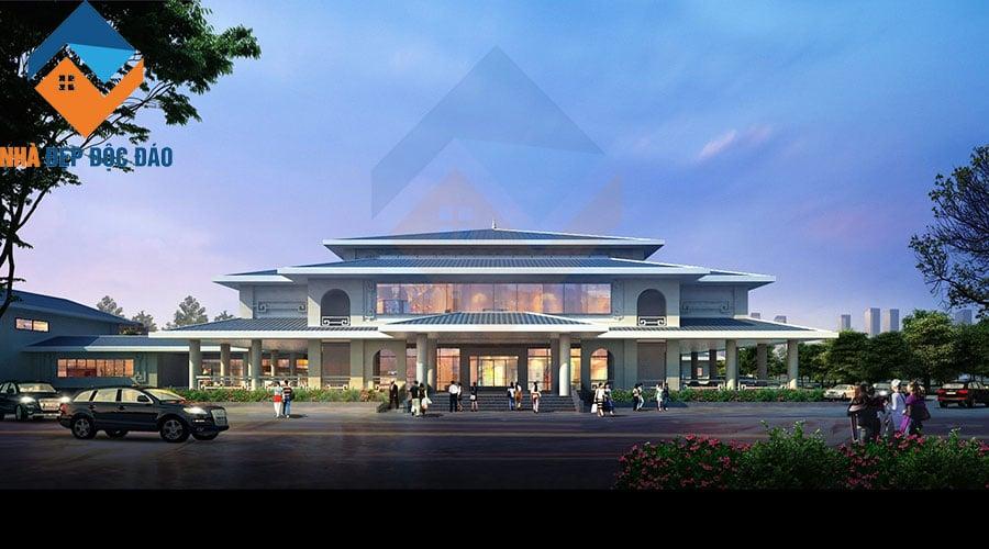 Thiết kế công trình văn hoá Bảo tàng - Thư viện thị xã Từ Sơn