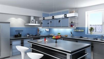 Tư vấn thiết kế phòng bếp với bàn ăn hợp phong thủy