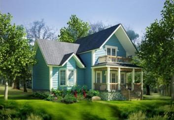 Mẫu thiết kế nhà vườn mỹ đẹp hiện đại phong cách