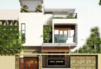 Thiết kế biệt thự nhà vườn 285m2