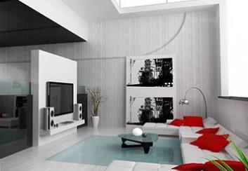 Thiết kế nội thất hài hòa ánh sáng