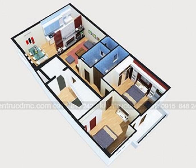 Thiết kế nội thất Chung cư mini 8 tầng