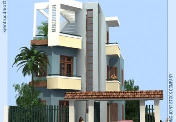 Biệt thự mini 3 tầng – Hà Nội