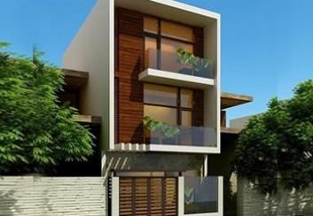 Thiết kế nhà ở kết hợp kinh doanh 3 tầng 57m2