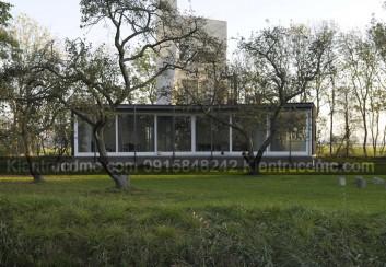 Ngôi nhà đẹp ở Zuidzande – Công trình nổi tiếng thế giới