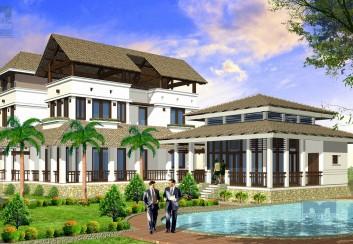 Thiết kế nhà vườn 672m2