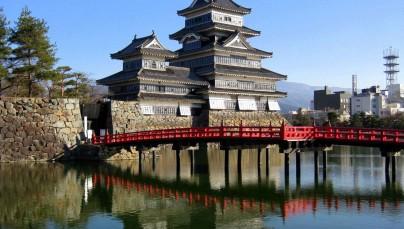 kiến trúc lâu đài cổ kính của Nhật Bản