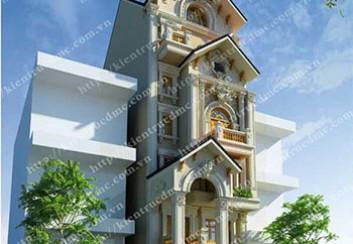 Thiết kế biệt thự phố phong cách cổ điển