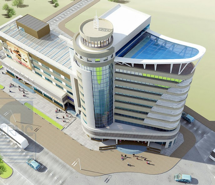 Thiết kế Trung tâm Thương mại Bắc Ninh