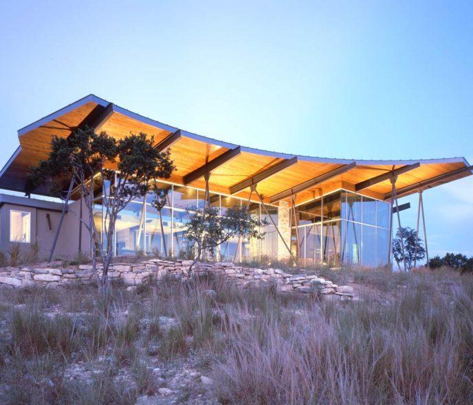 Kiểu nhà đẹp độc đáo – Ngôi nhà Trahan ranch